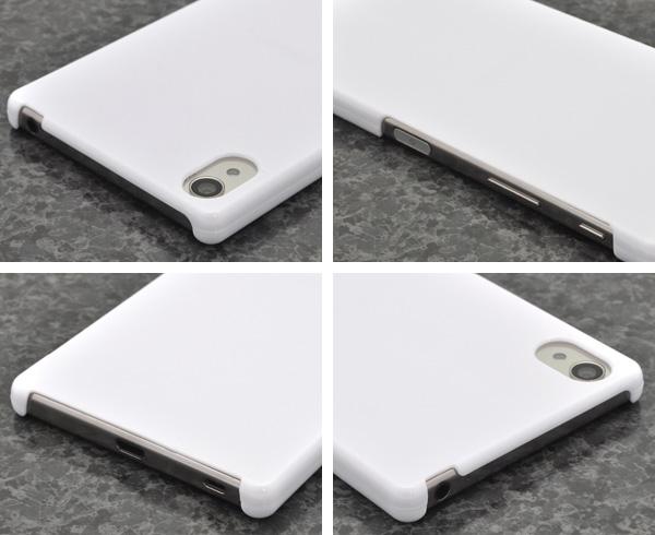 89687431ca <スマホ用素材アイテム>Xperia Z5 Premium SO-03H用ハードホワイトケース | 株式会社プラタ 直輸入ショップ 卸売り店