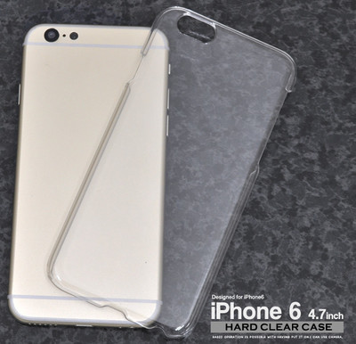 <スマホ用素材アイテム> iPhone6/6s(アイフォン)専用ハードクリアケース